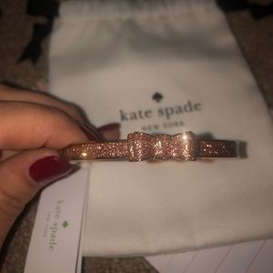 Kate Spade Moon River Bow Bangle Bracelet